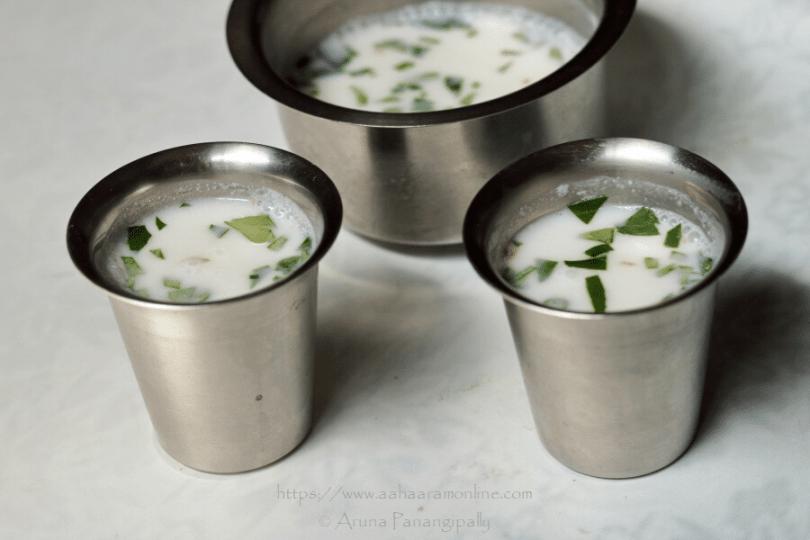 Majjiga | Spiced Buttermilk from Andhra Pradesh