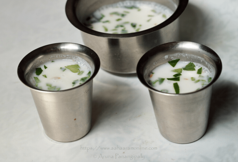 Majjiga | Spiced Buttermilk from Andhra Pradesh