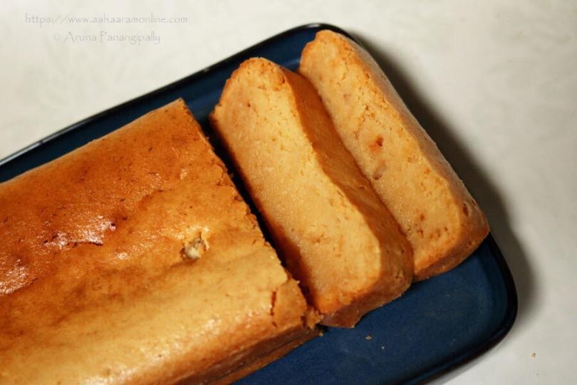Tarla Dalal's Malai Cake (Eggless Fresh Cream Cake)