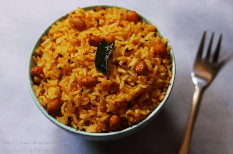 Peanut Rice | Verusenaga Annam | Verkadalai Sadam