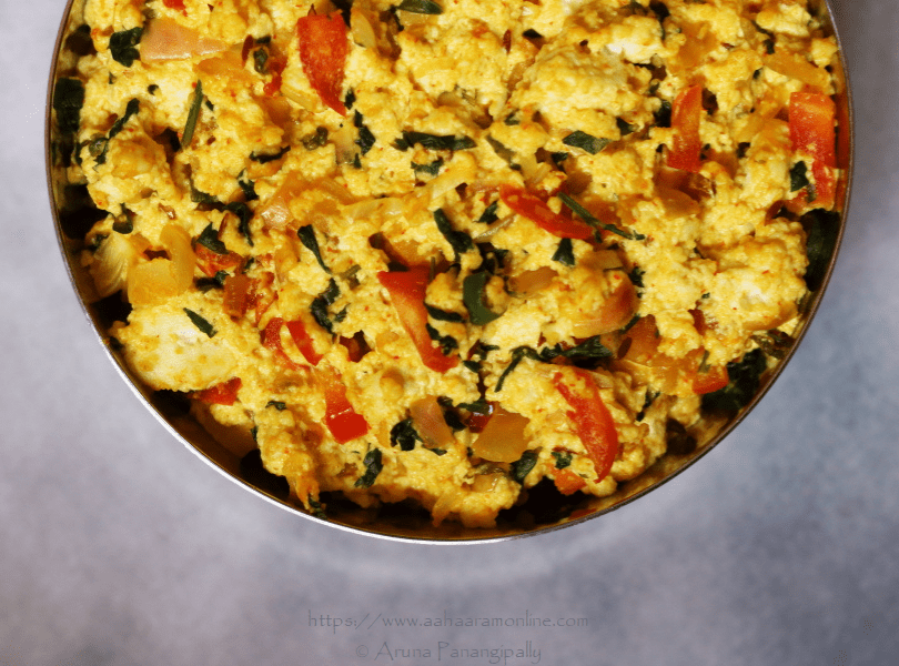 Methi Paneer Bhurji (Also a Low Potassium, Renal Diet Recipe)