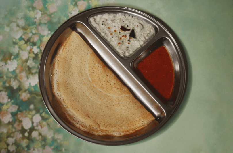 Rice and Poha Dosa (No Dal Dosa): Also a Renal Diet Recipe