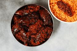 Vankaya Nilava Pachadi is an Andhra-style Brinjal Pickle or Baingan ka Achar made with fried brinjals, spices and oil.