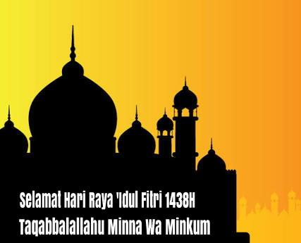 Idul Fitri 1438H