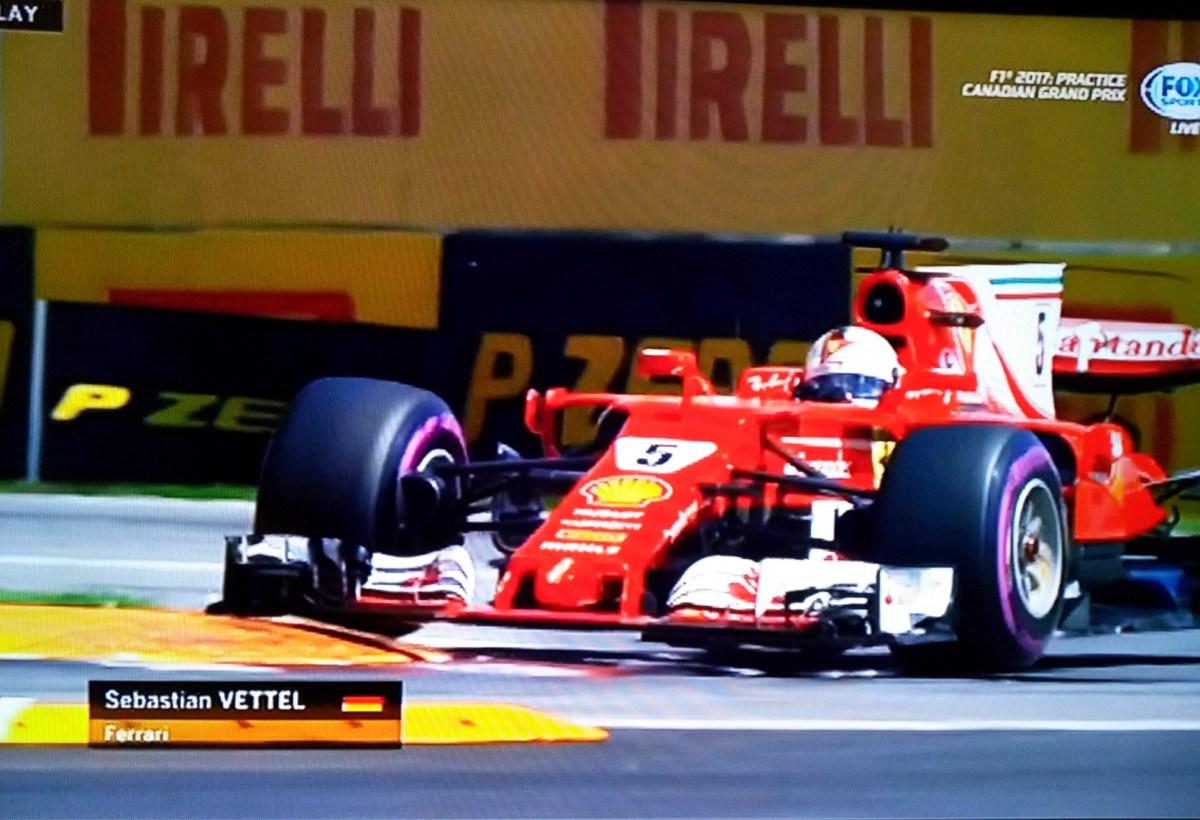 Vettel Tercepat di FP3 F1 Canada,  Disusul Raikkonen dan Hamilton