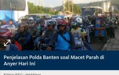 Lolos Dari Macet Parah di Anyer, Banten