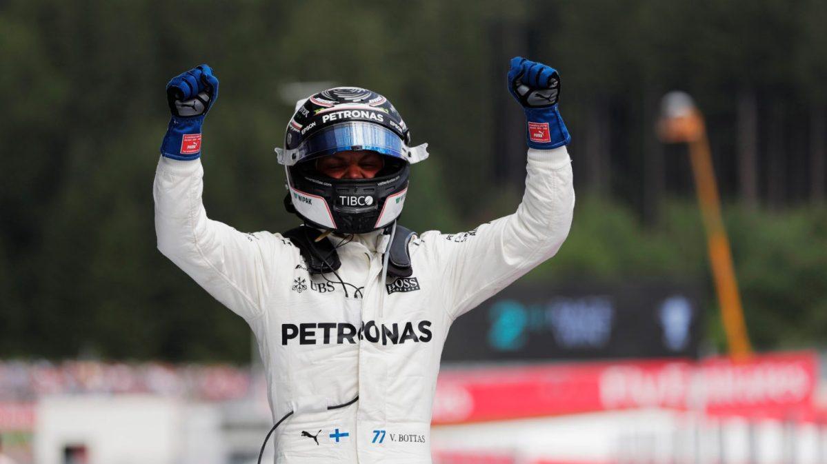Hasil F1 Austria 2017, Bottas Juara Disusul Vettel dan Ricciardo