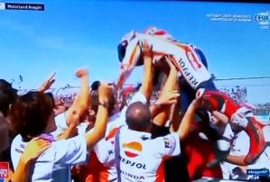 Hasil Motogp Aragon 2017, Marquez Juara Disusul Pedrosa dan Lorenzo