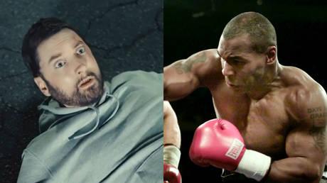 Instagram / Mike Tyson (left); Reuters / Gary Hershorn (right)