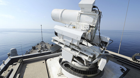 US Navy touts high-powered LASER WEAPON & shoots down drone in first at-sea demonstration (VIDEO)