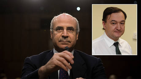 Bill Browder © AFP / Drew Angerer; Sergey Magnitsky © AFP / Hermitage Capital Management