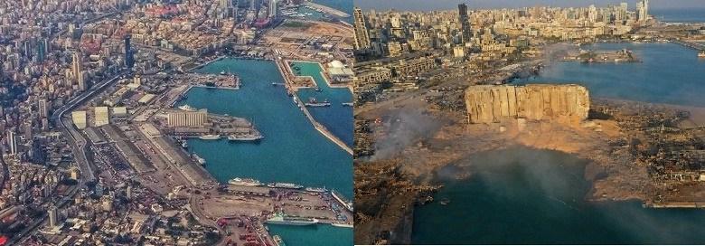 لبنان میں پر اسرار دھماکہ، دسیوں ہلاک، ہزاروں زخمی، بیروت شہر کی صورت ہی بدل گئی، چہ مگوئیوں کا سلسلہ جاری