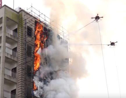 چین کے آگ بجھانے والے ڈرون نے شعبہ شہری تحفظ میں تہلکہ مچا دیا