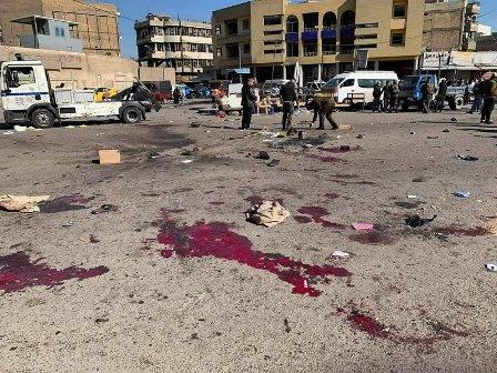 تین سال کے بعد بغداد پھر دھماکوں سے گونج اٹھا: دو خودکش حملوں میں 32 افراد جاں بحق، 110 زخمی