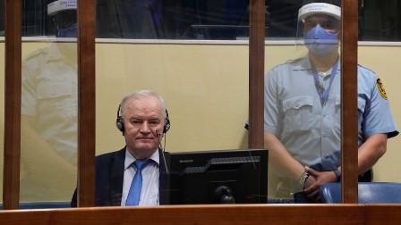 یوگوسلاویہ جنگی جرائم مسند عدالت: بوسنیا اور دیگر لسانی گروہوں کی نسل کشی اور جنگی جرائم میں ملوث سرب جرنل کی عمرقید کی سزا پر نظرثانی کی درخواست مسترد