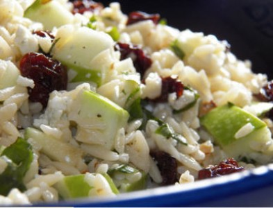 Fall Harvest Orzo Salad