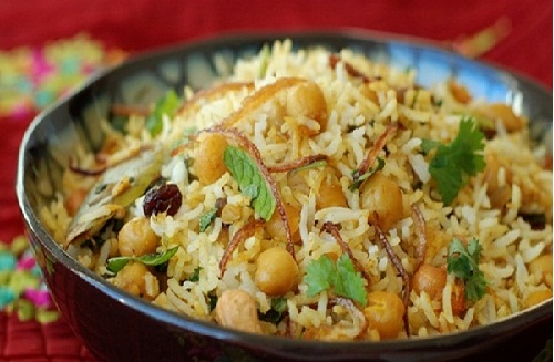 Special Recipe To Make Kabuli Chana Pulao