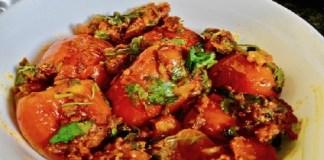 Bharwan Tamatar Recipe