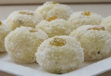 Coconut Laddu Recipe