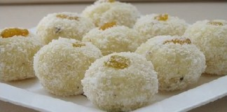 Coconut Laddu Recipe