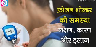 Shoulder Pain is Sign of Diabetes
