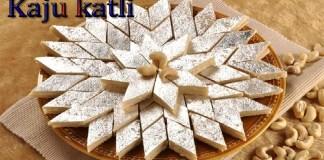 Delicious Kaju Katli Recipe