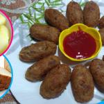 Aalu Bread Cutlet