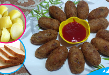 Aalu Bread Cutlet