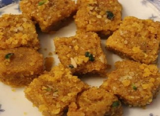 Daliya Barfi Recipe