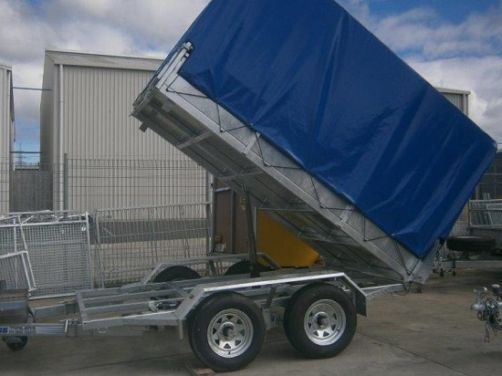 Heavy Duty Tandem Axle car Trailers NZ