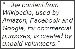 Wikipedia Content Use