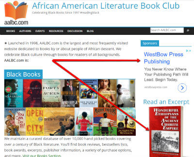 Promote Your Book, Product, or Service on AALBC.com