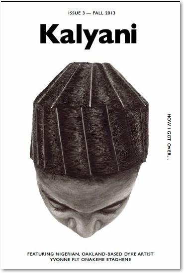 "A ""doobie"" covers the third issue of literary magazine Kalyani. - peoplewhowrite"