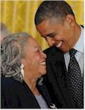 Toni and Barack