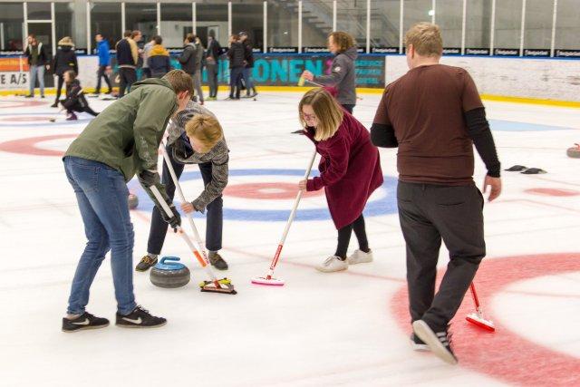 Curling begynderkursus