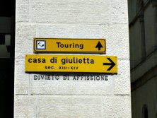 A caminho de casa da Julieta