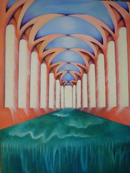 Aalia_Rahman_TheFlow_Oil on Canvas_36x48