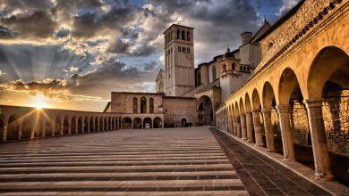 المعالم السياحية لمدينة إسيزي في إيطاليا