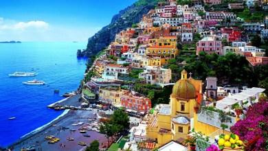 المعالم السياحية لمدينة بوسيتانو في إيطاليا
