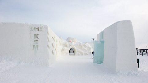 قلعة الثلج