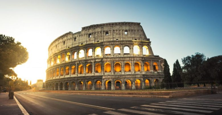 مدينة روما الكولوسيوم