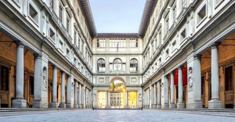 مدينة فلورانسا معرض أوفيزي