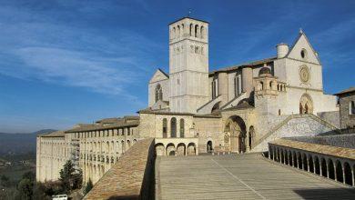 المعالم السياحية في مدينة إسيزي كاتدرائية القديس فرانسيس