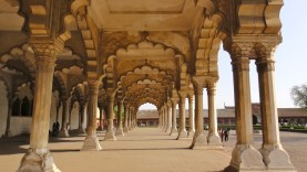 Arches at Agra Fort