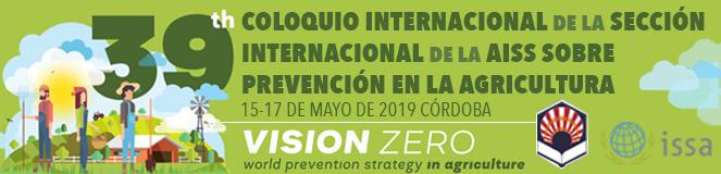 El Coloquio Internacional  de la AISS sobre Prevención en la Agricultura se celebrará en Córdoba