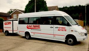 16 seat mini bus
