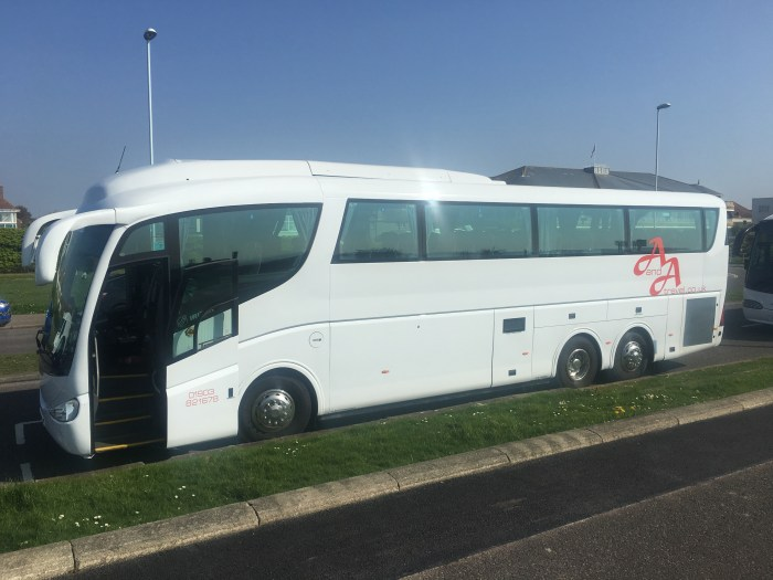Hire a coach in Worthing, Brighton