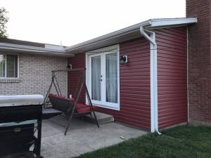 siding on patio
