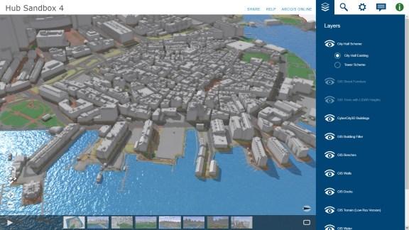 Map Interactive Application