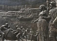 Founders Memorial, Boston, MA by John Francis Paramino, 1930